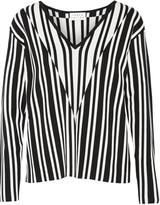 Tanya Taylor Johnny stretch jacquard-knit sweater