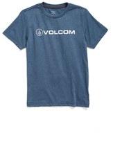 Volcom Boy's Euro Pencil Graphic T-Shirt