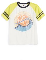Tea Collection 'Wipeout' Cotton T-Shirt (Little Boys & Big Boys)
