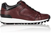 3.1 Phillip Lim WOMEN'S TRANCE LEATHER LOW-TOP SNEAKERS-BURGUNDY SIZE 9.5