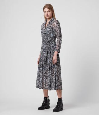 AllSaints Eley Mara Dress