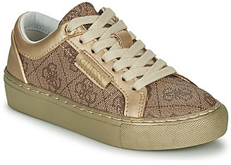 GUESS FI5LUC-FAL12-BEIGE girls's Shoes (Trainers) in Beige