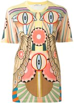 Givenchy 'Crazy Cleopatra' printed T-shirt - women - Cotton - 36