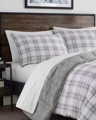Eddie Bauer Sherwood Plaid Micro Suede Comforter Set