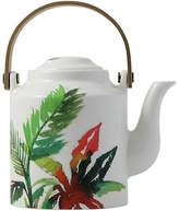 Gien Jardins Teapot - White