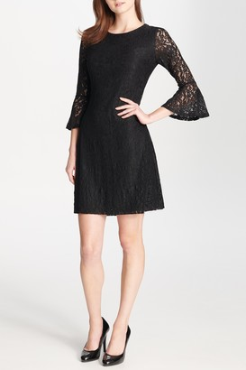 Tommy Hilfiger 3/4 Bell Sleeve Lace Dress