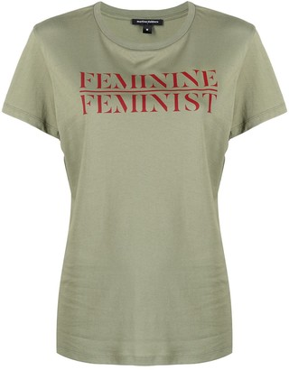 Marlies Dekkers Feminine Feminist crew neck T-shirt