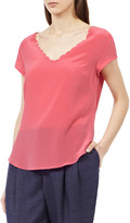 Sorel Cap LASER CUT CAP SLEEVE TOP