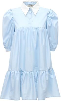 AVAVAV Lvr Exclusive Ruffled Cotton Shirt Dress