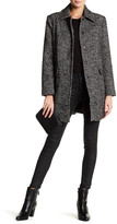 Joe Fresh Colllared Long Sleeve Tweed Coat