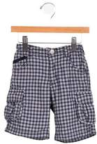 Armani Junior Boys' Plaid Shorts