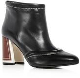 Marni Women's Leather High Heel Booties