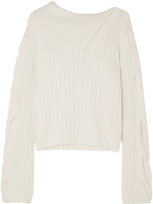 See by Chloe Ribbed-knit Sweater