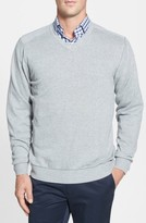 Cutter & Buck Men's Big & Tall Broadview V-Neck Sweater
