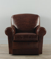 L.L. Bean Leather Lodge Swivel Chair