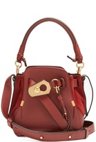 Chloé Owen small leather and suede shoulder bag