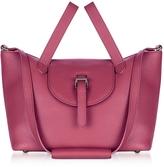 Meli-Melo Bordeaux Leather Thela Medium Tote Bag