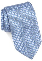 Vineyard Vines Whale Print Silk Tie