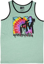 JCPenney NOVELTY SEASON Melted MTV Graphic Tank Top