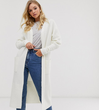 M Lounge Luxe oversized cardigan with rib knit cuffs