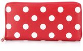Comme des Garcons 'Polka Dots' wallet - unisex - Calf Leather - One Size