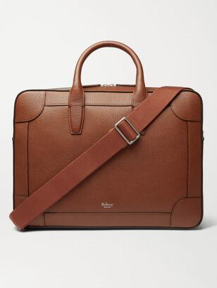 Mulberry Belgrave Full-Grain Leather Briefcase - Men - Brown