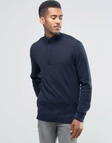 French Connection Long Sleeve Knitted Polo