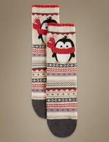 Marks and Spencer Cotton Rich Socks