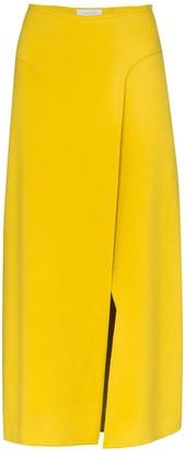Esteban Cortazar Wrap Front Skirt