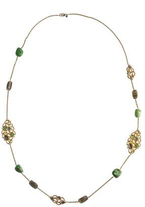 Alexis Bittar Chalcedony Labradorite Necklace