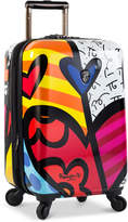 "Heys Britto New Day 21"" Expandable Hardside Spinner Suitcase"