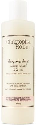 Christophe Robin Rose Extract Delicate Volumizing Shampoo, 250 mL