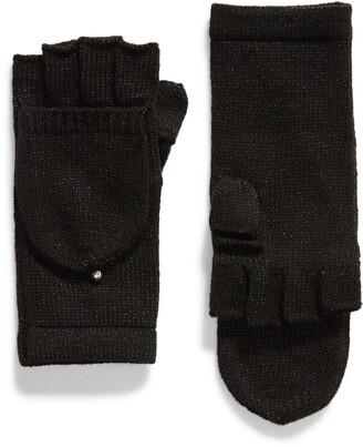 Kate Spade Metallic Pop Top Gloves