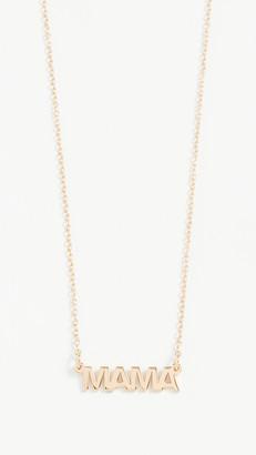 Jennifer Zeuner Jewelry Mercer Mama Necklace