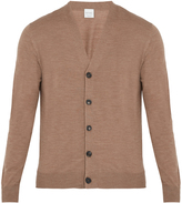 Paul Smith Long-sleeved fine-knit wool cardigan