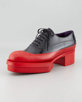 Prada Rubber Bottom Oxford