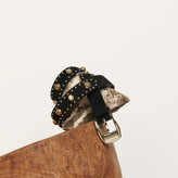 SandroSandro Belt trimmed with rivets and rhinestones