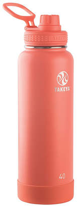 Takeya Actives 40 oz Insulated Stainless Steel Water Bottle with Spout Lid