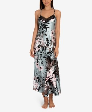 Linea Donatella Nohea Tropical-Print Nightgown