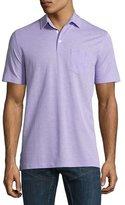 Ralph Lauren Melange Polo Shirt, Lavender