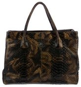 Chanel Python Executive Cerf Tote