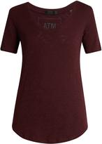 ATM V-neck slub cotton-jersey T-shirt