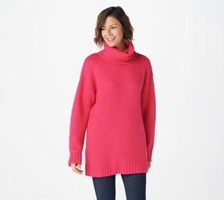 G.I.L.I. Got It Love It G.I.L.I. Long-Sleeve Oversized Turtleneck Sweater