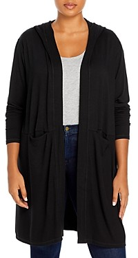 Marc New York Plus Size Hooded Duster Cardigan