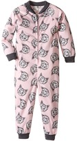 P.J. Salvage Kids Meow or Never Cat One-Piece Pajama (Toddler/Little Kids/Big Kids)