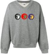 Gosha Rubchinskiy ying yang sweatshirt - men - Cotton - S