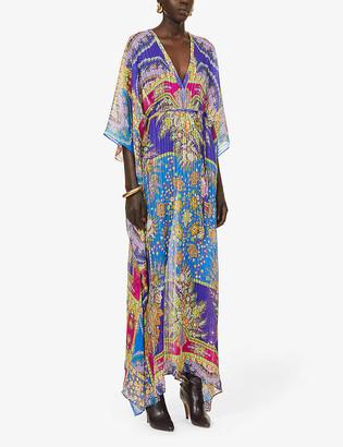 Etro Lungo printed silk-crepe kaftan