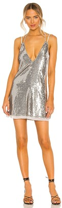 Free People Double Take Sequin Mini Dress