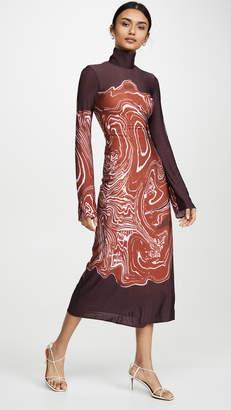 Ellery Bach High Neck Dress