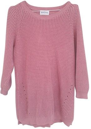 Brora Pink Cotton Knitwear for Women